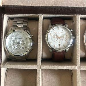 TWO Michael Kors Mens Watch's